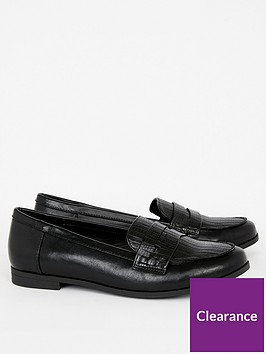 evans-extra-wide-fit-rambo-loafer-black