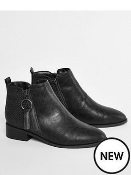evans-extra-wide-fit-alec-ankle-boots-black