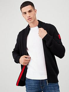 hugo-sambre2-zip-cardigan-black