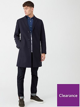 hugo-malte-wool-overcoat-navy