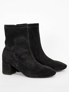 evans-wide-fit-amber-flat-boots-black
