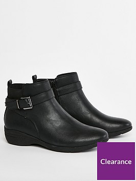 evans-amanda-wide-fit-ankle-boots-black