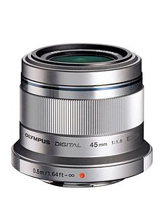 olympus-olympus-mzuiko-digital-45mm-118-et-m4518-lens-silver