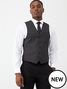 v-by-very-black-check-waistcoat-charcoal