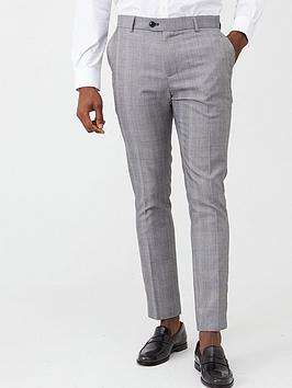 V by Very V By Very Slim Suit Trousers - Grey Picture