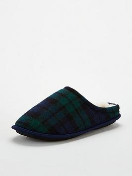 v-by-very-mule-slipper-tartan