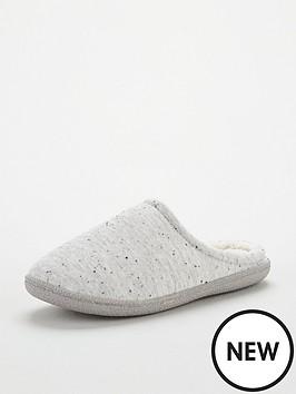 v-by-very-textured-nep-mule-slipper-white