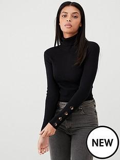 v-by-very-skinny-rib-roll-neck-jumper-black