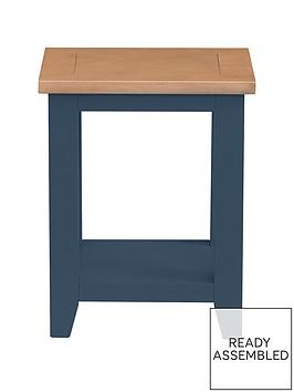 julian-bowen-richmond-ready-assembled-lamp-table-midnight-blue