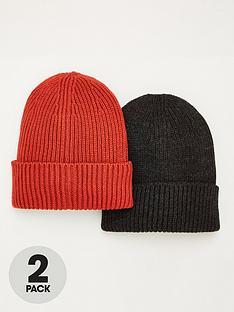 v-by-very-2pk-coloured-beanie-hats