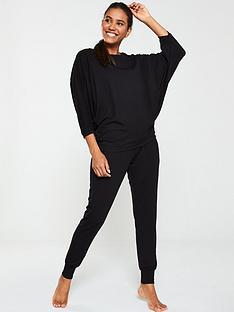 v-by-very-slouchy-long-sleeve-lounge-set-black