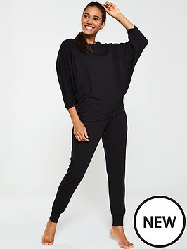 v-by-very-slouchy-long-sleeve-lounge-set-black