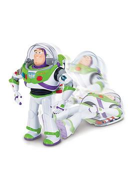 Toy Story Toy Story Buzz Lightyear With Interactive Drop Down Action - 12  ... Picture