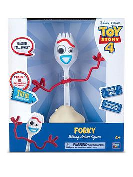 Toy Story Toy Story Forky - 8 Inch Free Wheeling Talking Action Figure Picture