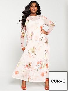 v-by-very-curve-floral-mesh-print-maxi-dress-floral-print