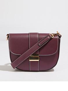 warehouse-clasp-detail-belt-bag-berry