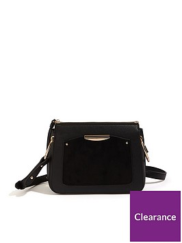 oasis-courtney-ring-cross-body-bag-black