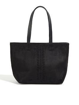 oasis-whipstitch-bag-black