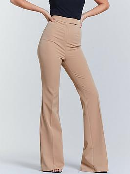 Michelle Keegan Michelle Keegan Flared Trouser - Camel Picture