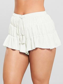 kate-wright-satin-pyjama-short-white