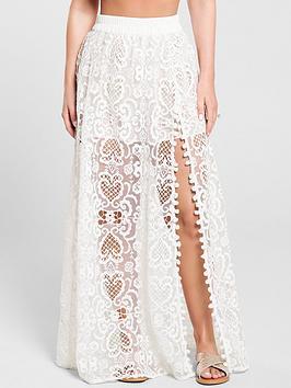 kate-wright-lace-side-split-maxi-skirt-white