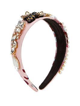 v-by-very-floral-satin-embellishednbspheadband-pink