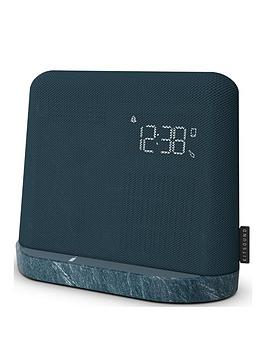 Kitsound   X-Dock Qi Bluetooth Radio Alarm Docking Station With Dual Alarm And Qi Wireless Charging Ability