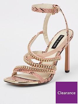 river-island-river-island-chain-detail-heel-sandal-pink