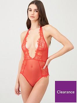 bluebella-amelie-bodysuit-red