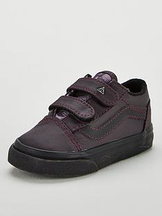 fcb53f51a0ed Vans Vans Harry Potter Deathly Hallows Old Skool Velcro Toddler