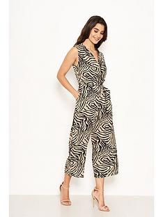 ax-paris-animal-print-jumpsuit-khaki