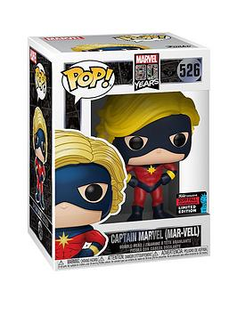 Pop!  Funko  Marvel 80Th - First Appearance Captain Marvel (Mar-Vell)