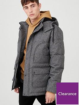 very-man-marl-padded-jacket-dark-grey