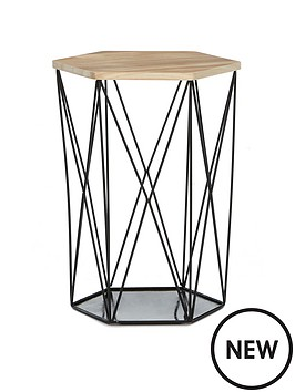 wire-storage-basket-table