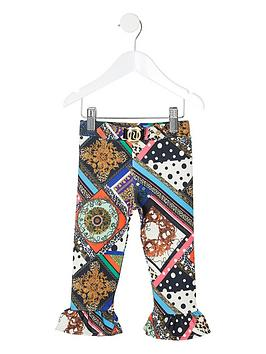 river-island-mini-mini-girls-multi-print-leggings-black
