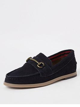 River Island River Island Mini Boys Loafer-Navy Picture