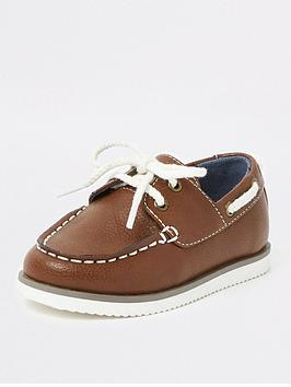 river-island-mini-boys-brown-lace-up-boat-shoes