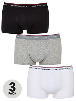 Tommy Hilfiger Tommy Hilfiger Three Pack Hipster Trunk - Multiple Colours Picture