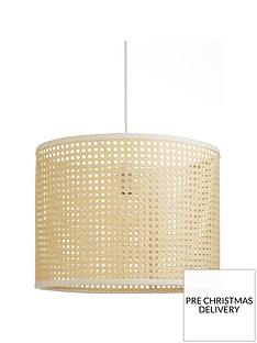 rattan-easy-fit-pendant-light-shade