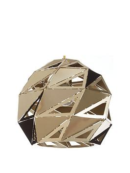 Very Gia Faceted Metal Pendant Ceiling Light Picture