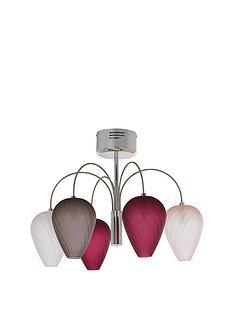 faye-glass-5-light-ceiling-pendant