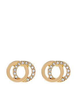 accessorize-swarovski-linked-stud-earrings-gold