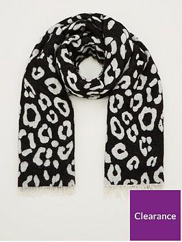 v-by-very-leopard-print-scarf-mono
