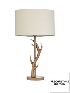 antler-table-lamp