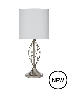 helix-metal-table-lamp-with-cylinder-shade