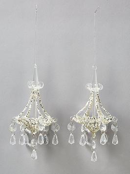 gisela-graham-chandelier-christmas-tree-decorations-set-of-2