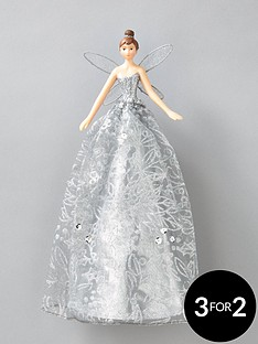 gisela-graham-silver-fairynbspchristmas-tree-topper