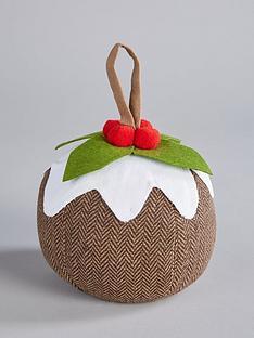 gisela-graham-christmas-pudding-door-stop