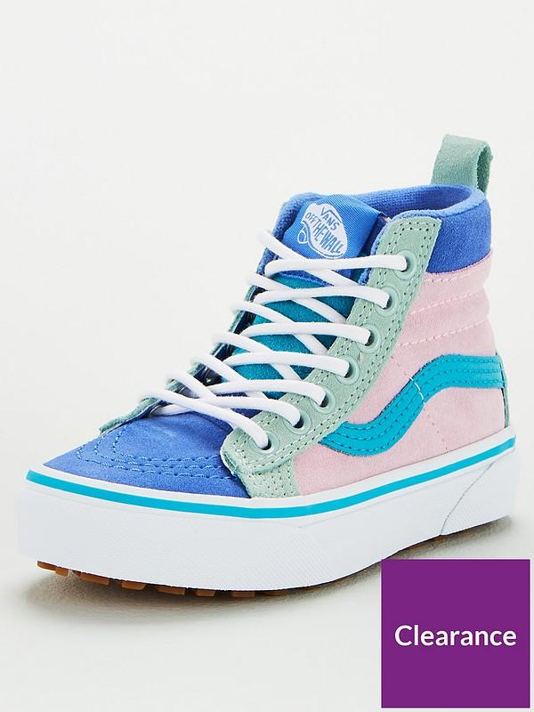 Damen vans Blaulila Sk8 hi Mte 2.0 Dx Sneaker