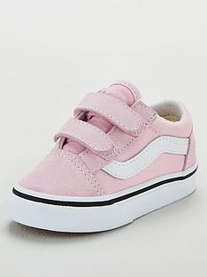 vans-old-skool-toddler-trainers-lilacwhite